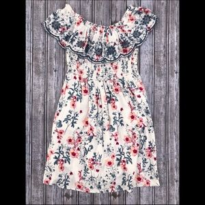 Xhiliration • Off the Shoulder Floral Dress